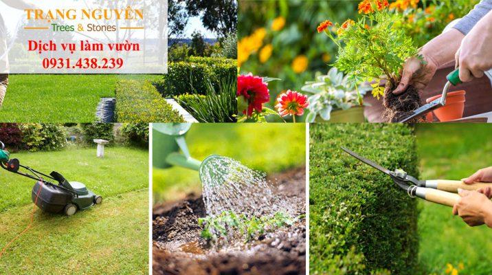 Chăm sóc vườn