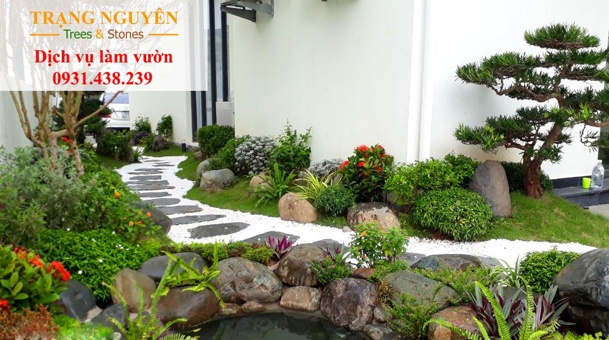 Trang trí sân vườn đẹp