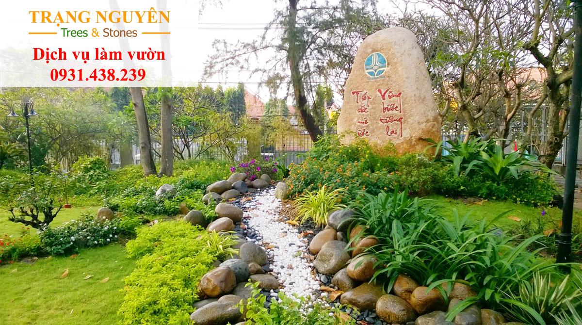 Trồng cây sân vườn đẹp
