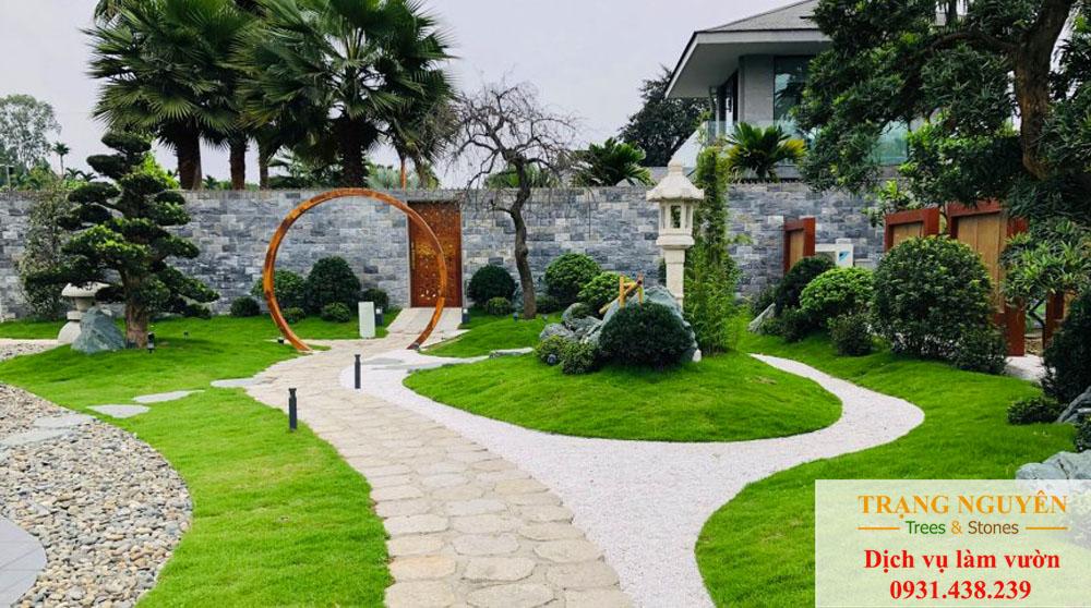 Cây cảnh sân vườn hoác môn