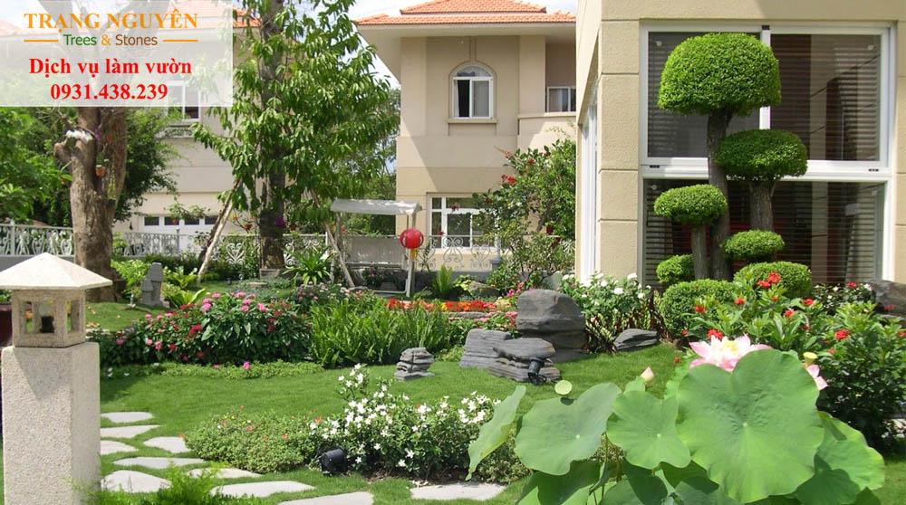 Cây cảnh sân vườn quận 6
