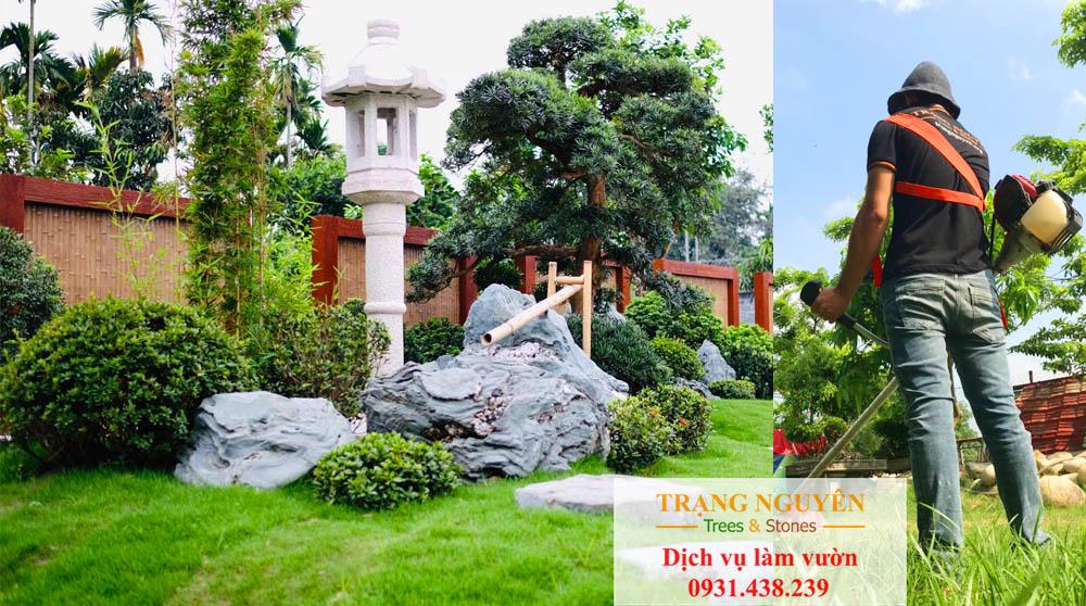 Chăm sóc cây cảnh sân vườn tại quận 2