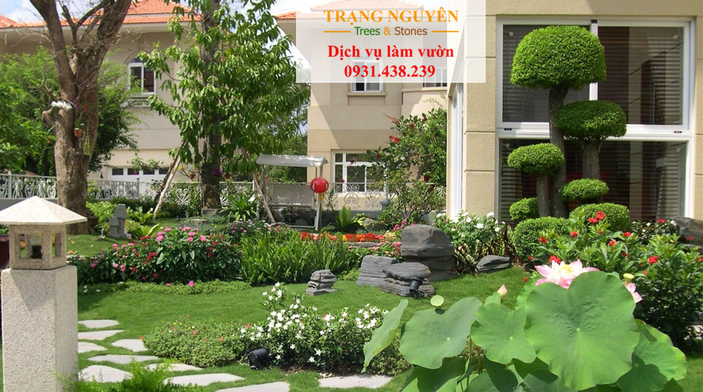 Chăm sóc sân vườn quận 7