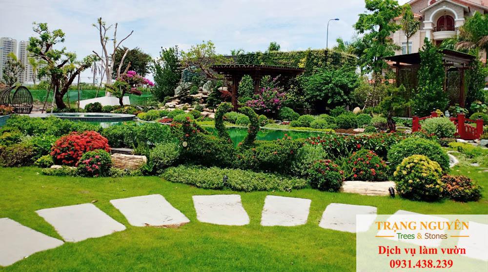 Chăm sóc sân vườn tại Bình Chánh
