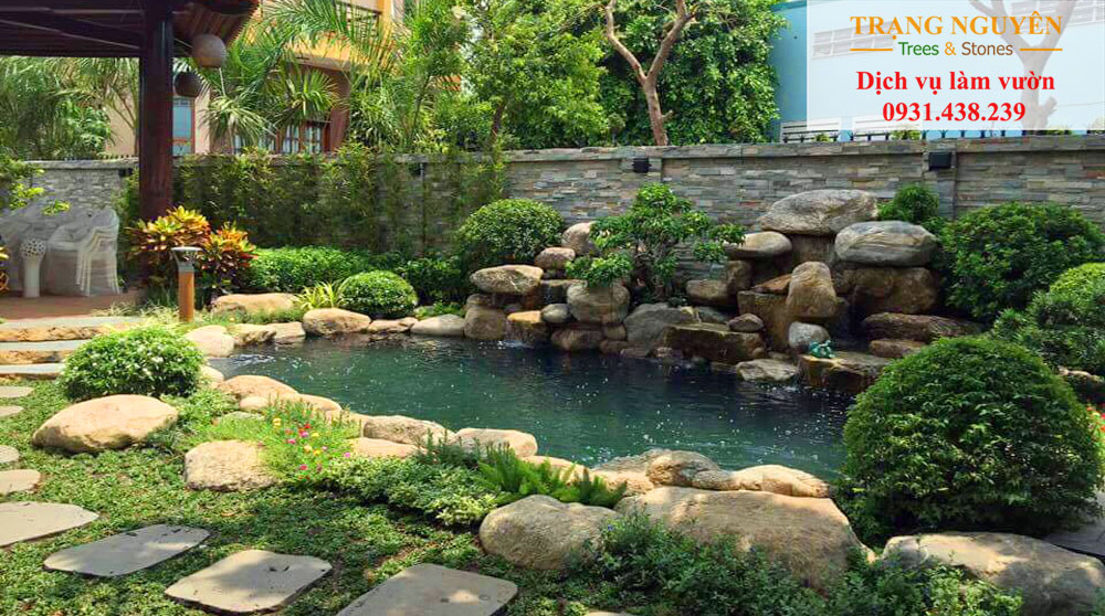 Chăm sóc sân vườn tại Cần Giờ