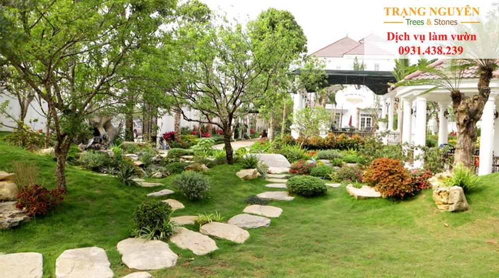 Chăm sóc sân vườn tại Nhà Bè