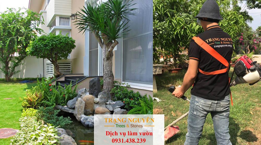 Chăm sóc sân vườn tại phú nhuận