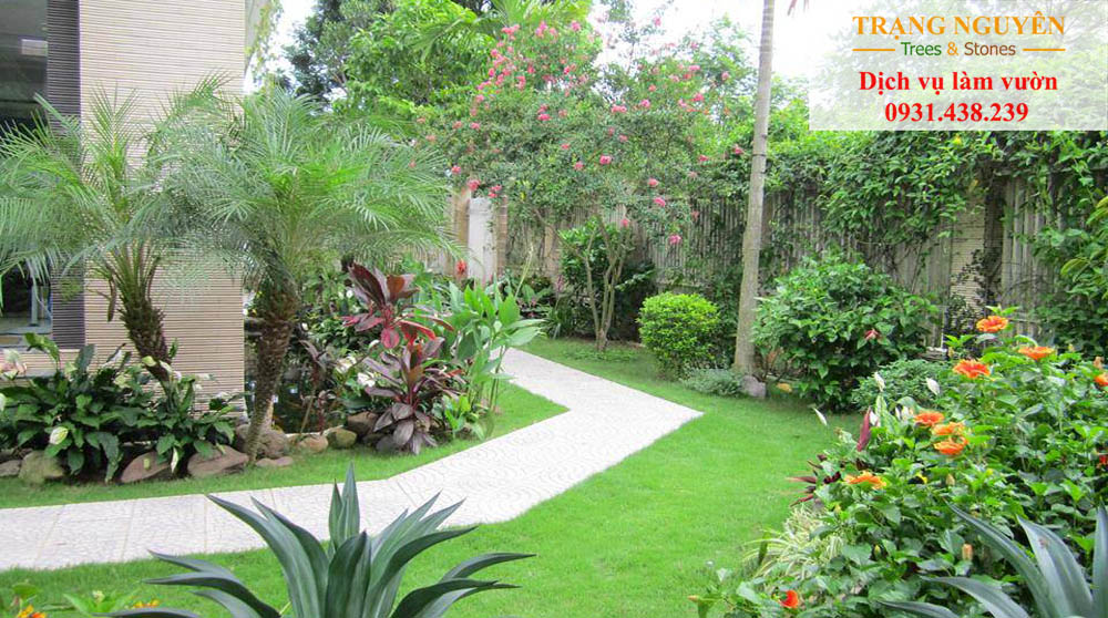 Chăm sóc sân vườn tại Thủ Đức