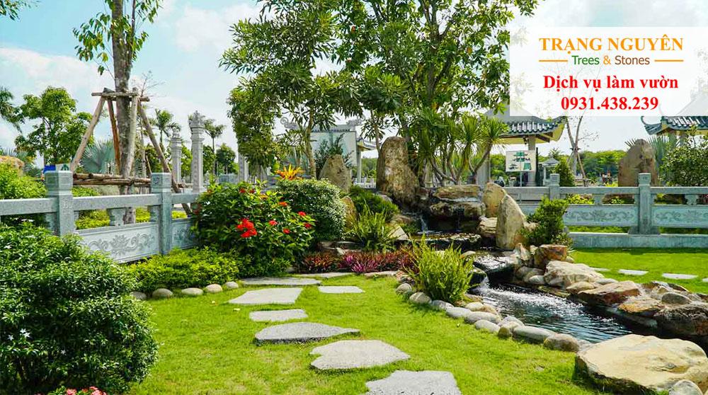 Sân vườn tại Bà Rịa Vũng Tàu
