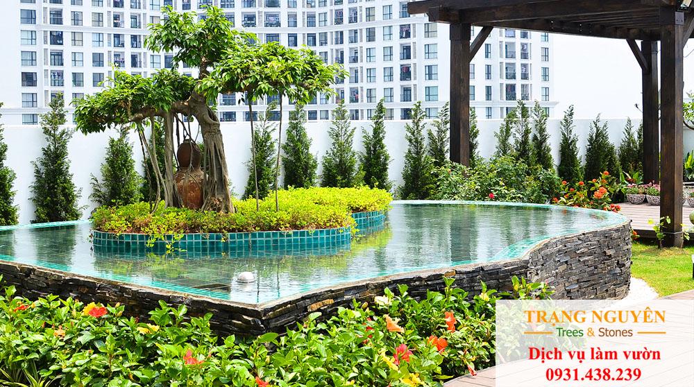 Sân vườn Biên Hoà Đồng Nai đẹp