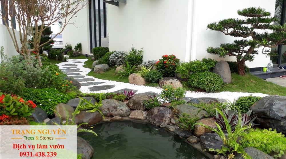 Sân vườn tại Bình Phước