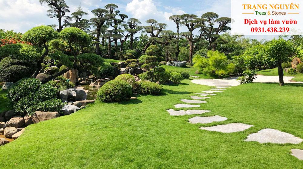 Thi công cảnh quan sân vườn đẹp