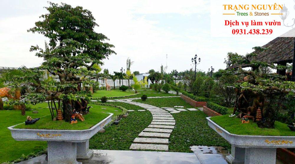Thi công cảnh quan sân vườn tại tphcm