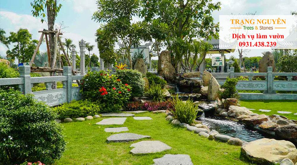 Thi công sân vườn đẹp
