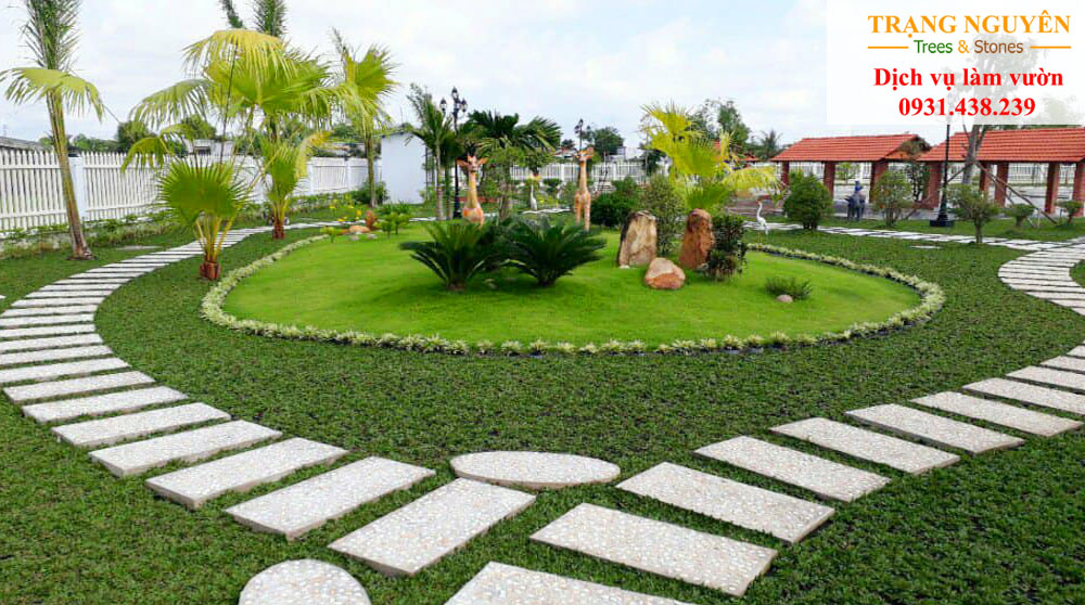 Thi công trồng cây cỏ